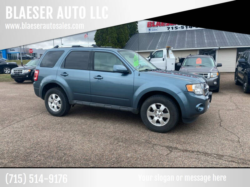 2012 Ford Escape for sale at BLAESER AUTO LLC in Chippewa Falls WI