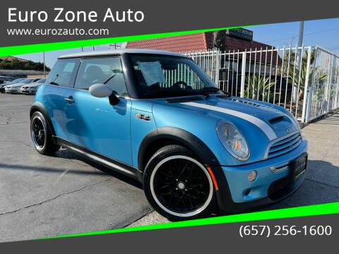 2004 MINI Cooper for sale at Euro Zone Auto in Stanton CA