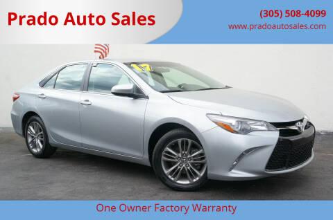 2017 Toyota Camry for sale at Prado Auto Sales in Miami FL