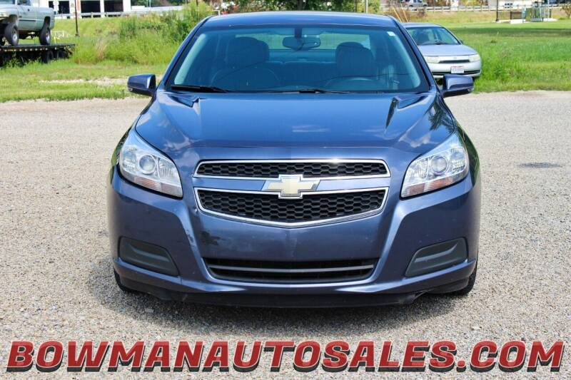 2013 Chevrolet Malibu for sale at Bowman Auto Sales in Hebron OH