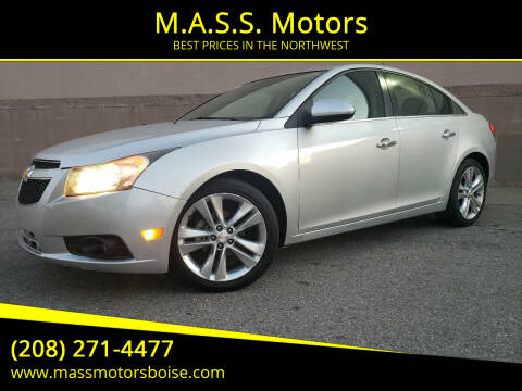 2013 Chevrolet Cruze for sale at M.A.S.S. Motors in Boise ID