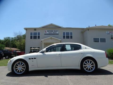 2009 Maserati Quattroporte for sale at SOUTHERN SELECT AUTO SALES in Medina OH