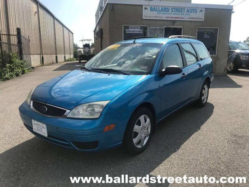 2007 Ford Focus for sale at Ballard Street Auto in Saugus MA