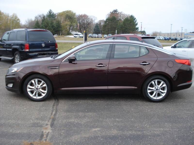2011 Kia Optima for sale at North Star Auto Mall in Isanti MN