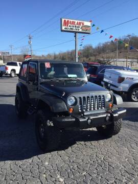 2010 Jeep Wrangler for sale at MARLAR AUTO MART SOUTH in Oneida TN