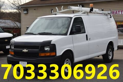 2011 Chevrolet Express Cargo for sale at MANASSAS AUTO TRUCK in Manassas VA