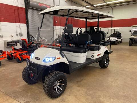 2021 Aetric SDL 6 Seater Lifted Golf Cart for sale at Columbus Powersports - Golf Carts in Columbus OH