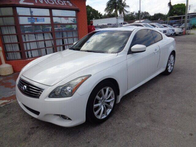2011 Infiniti G37 Coupe for sale in Hollywood, FL