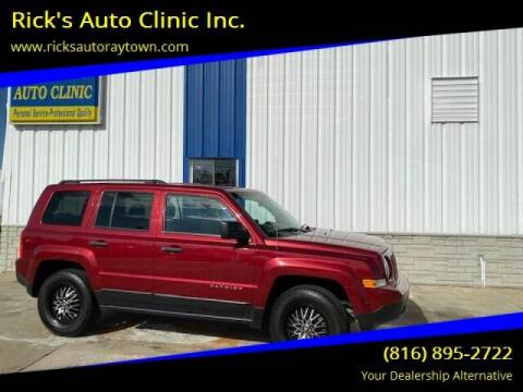 2013 Jeep Patriot for sale at Rick's Auto Clinic Inc. in Raytown MO
