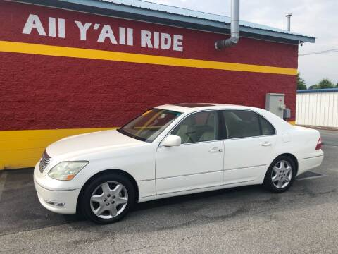 2005 Lexus LS 430 for sale at Big Daddy's Auto in Winston-Salem NC