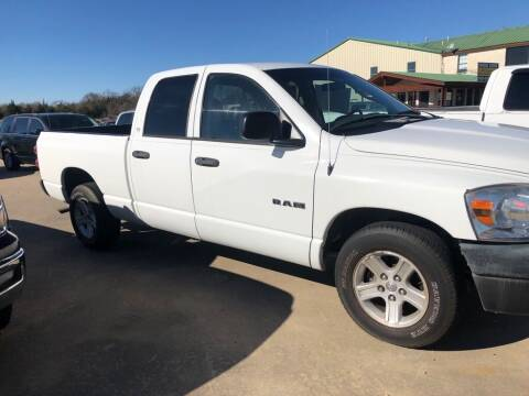 2008 Dodge Ram Pickup 1500 for sale at Driver's Choice in Sherman TX