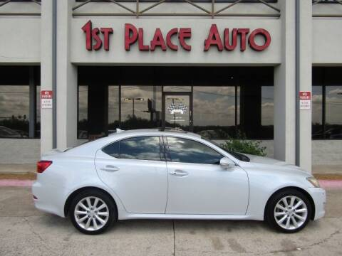 2009 Lexus IS 250 for sale at First Place Auto Ctr Inc in Watauga TX
