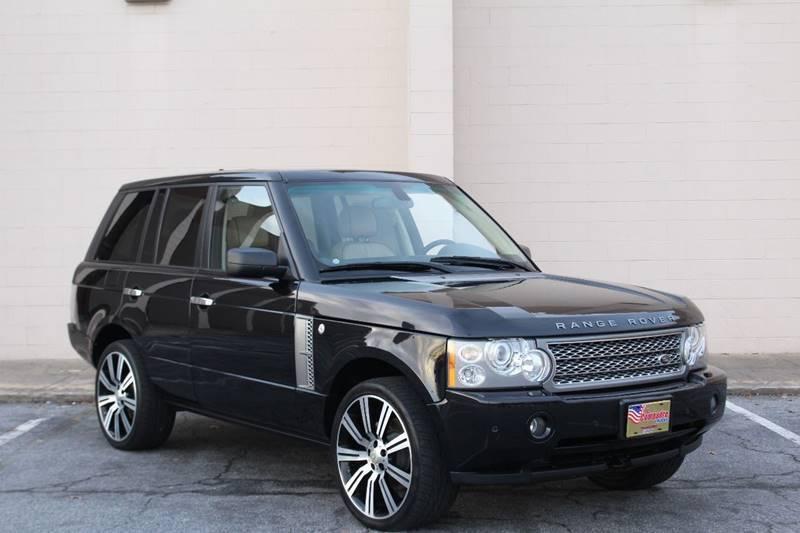 2008 Land Rover Range Rover for sale at El Compadre Trucks in Doraville GA