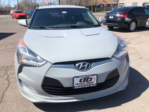2013 Hyundai Veloster for sale at DRIVE N BUY AUTO SALES in Ogden UT