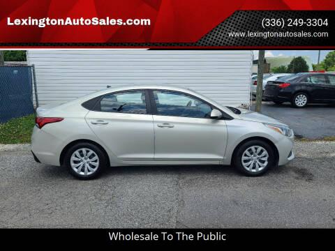 2018 Hyundai Accent for sale at LexingtonAutoSales.com in Lexington NC