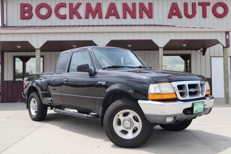 1999 Ford Ranger for sale at Bockmann Auto Sales in Saint Paul NE