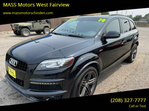2014 Audi Q7 for sale at M.A.S.S. Motors - West Fairview in Boise ID