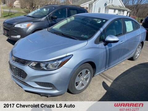 2017 Chevrolet Cruze for sale at Warren Auto Sales in Oxford NY