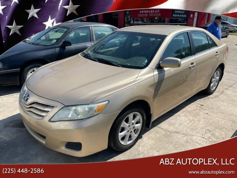 2011 Toyota Camry for sale at ABZ Autoplex, LLC in Baton Rouge LA