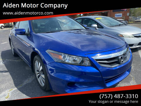 2011 Honda Accord for sale at Aiden Motor Company in Portsmouth VA