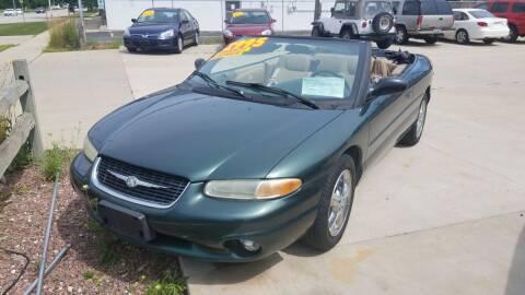 2000 Chrysler Sebring for sale at Kenosha Auto Outlet LLC in Kenosha WI