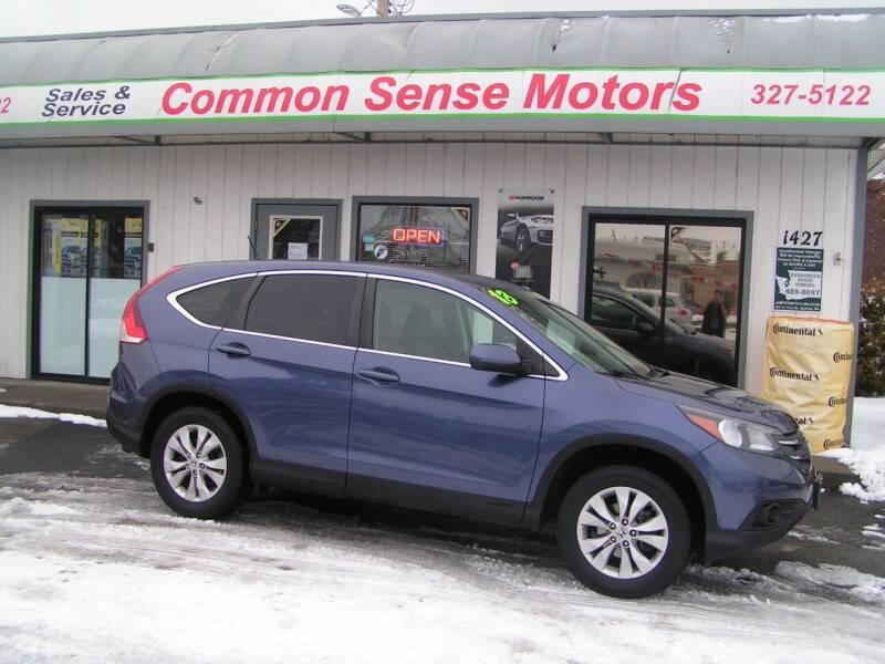 2013 Honda CR-V for sale at Common Sense Motors in Spokane WA