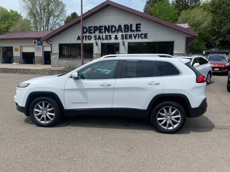 2018 Jeep Cherokee for sale at Dependable Auto Sales and Service in Binghamton NY