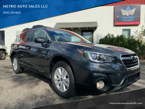 2018 Subaru Outback for sale at METRO AUTO SALES LLC in Blaine MN