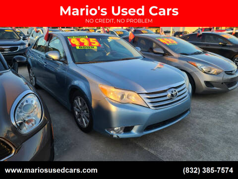 2011 Toyota Avalon for sale at Mario's Used Cars - South Houston Location in South Houston TX