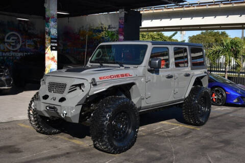 2021 Jeep Wrangler Unlimited for sale at ELITE MOTOR CARS OF MIAMI in Miami FL