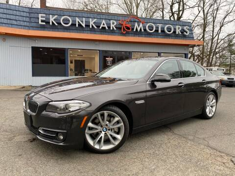 2016 BMW 5 Series for sale at Ekonkar Motors in Scotch Plains NJ