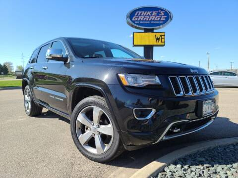 2014 Jeep Grand Cherokee for sale at Monkey Motors in Faribault MN
