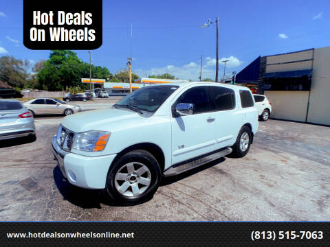 2006 Nissan Armada for sale at Hot Deals On Wheels in Tampa FL