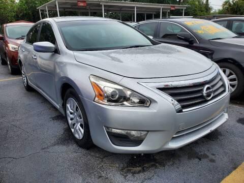 2015 Nissan Altima for sale at America Auto Wholesale Inc in Miami FL