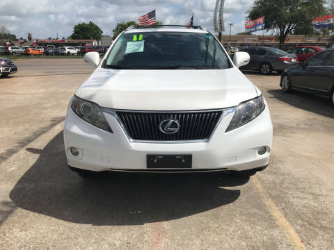 2011 Lexus RX 350 for sale at SOUTHWAY MOTORS in Houston TX