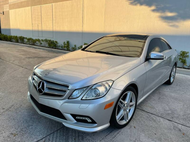 2011 Mercedes-Benz E-Class for sale at Auto Beast in Fort Lauderdale FL