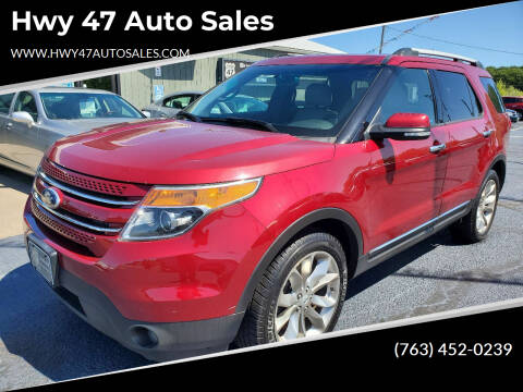 2013 Ford Explorer for sale at Hwy 47 Auto Sales in Saint Francis MN
