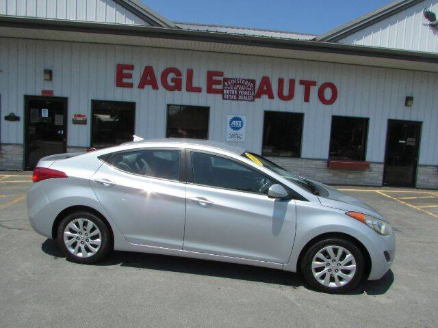 2013 Hyundai Elantra for sale at Eagle Auto Center in Seneca Falls NY