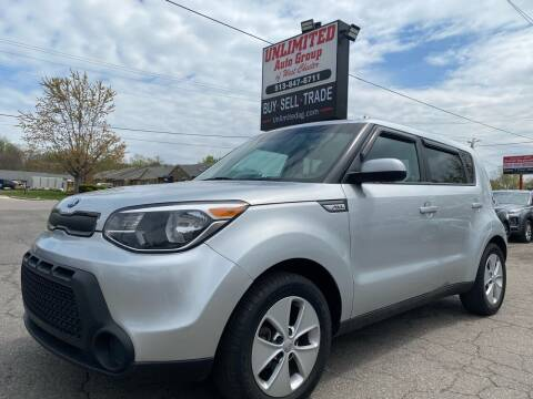 2016 Kia Soul for sale at Unlimited Auto Group in West Chester OH