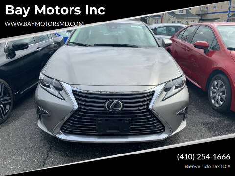 2018 Lexus ES 350 for sale at Bay Motors Inc in Baltimore MD