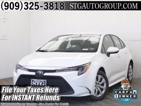 2020 Toyota Corolla for sale at STG Auto Group in Montclair CA