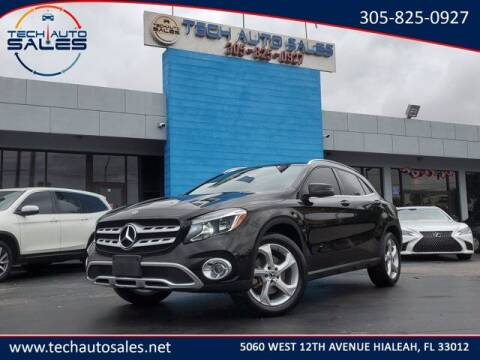 2018 Mercedes-Benz GLA for sale at Tech Auto Sales in Hialeah FL