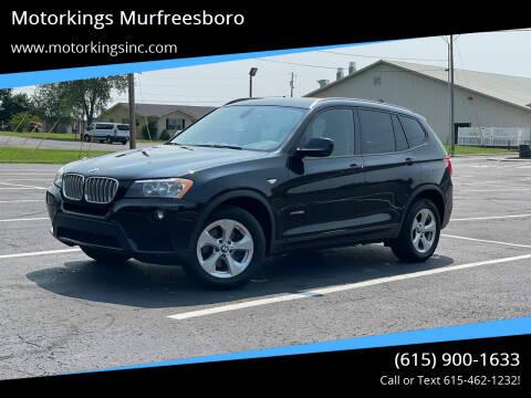 2012 BMW X3 for sale at Motorkings Murfreesboro in Murfreesboro TN