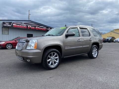 2012 GMC Yukon for sale at Sisson Pre-Owned in Uniontown PA