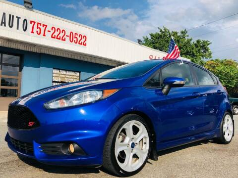 2014 Ford Fiesta for sale at Trimax Auto Group in Norfolk VA