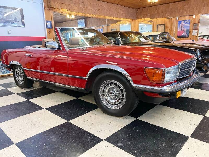 1985 Mercedes-Benz 380-Class for sale at AB Classics in Malone NY