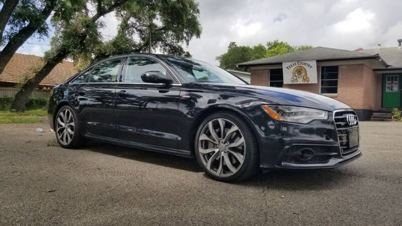 2012 Audi A6 for sale at Clover Leaf Auto Group in San Antonio TX