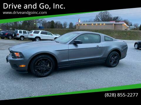 2010 Ford Mustang for sale at Drive and Go, Inc. in Hickory NC