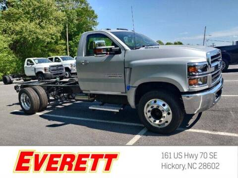 2020 Chevrolet Silverado 5500HD for sale at Everett Chevrolet Buick GMC in Hickory NC