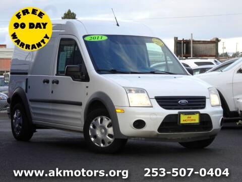 2011 Ford Transit Connect for sale at AK Motors in Tacoma WA